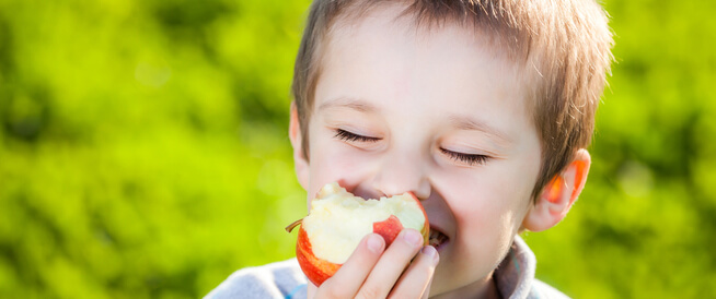 التفاح للأطفال: حقائق مثيرة للاهتمام