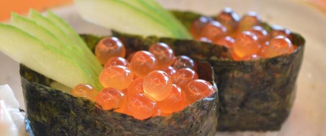 بيض السمك: أنواع عديدة لا تقتصر على الكافيار