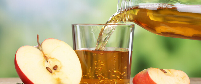فوائد عصير التفاح الصحية