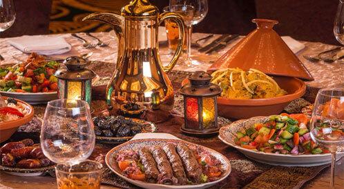 أطباق أساسية في افطار رمضان