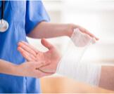 علاج الجروح المتقيحة والملتهبة