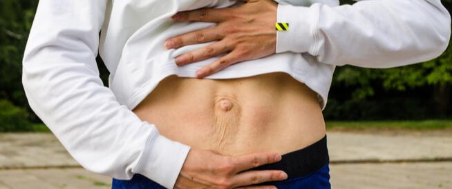 انفصال عضلات البطن: حالة غريبة قد يسببها الحمل