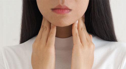 أعراض التهاب الغدة الدرقية