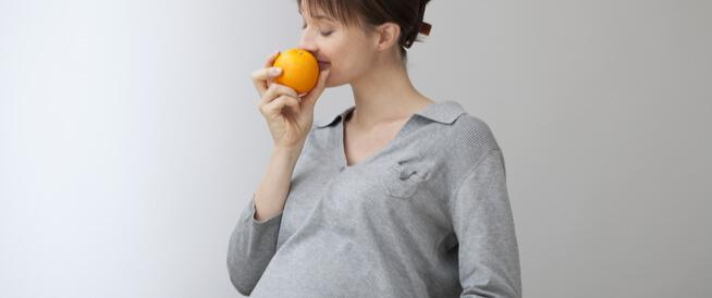 حاسة الشم عند الحامل
