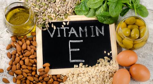 أين يوجد فيتامين E