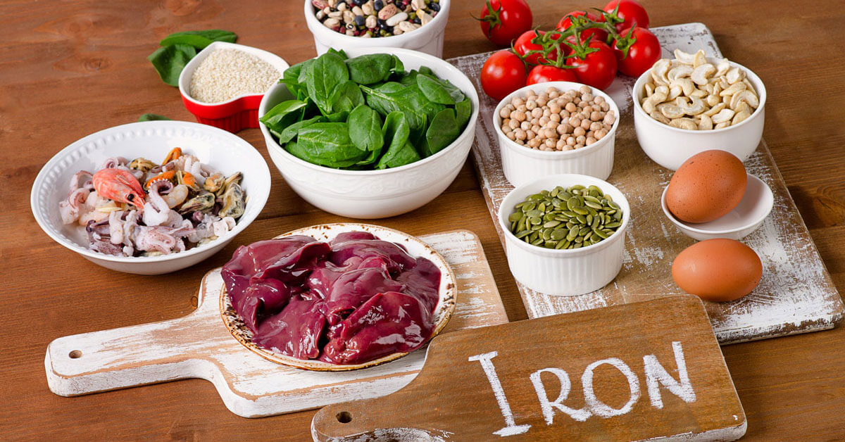 علاج الأنيميا بالأكل الصحي ويب طب