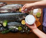 تناول الحامل للمأكولات البحرية