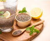 طريقة استخدام بذور الشيا مع الماء