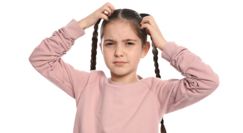 علاج قوباء الشعر عند الأطفال