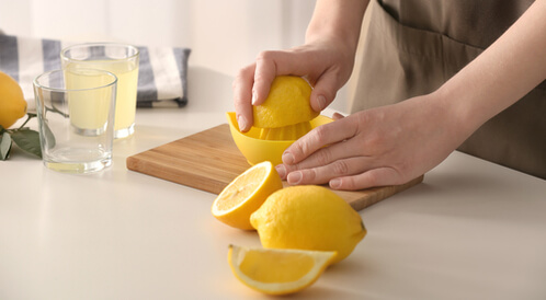 الليمون والضغط المنخفض