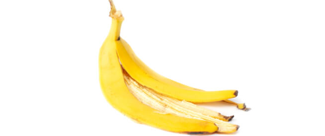 فوائد قشر الموز للوجه