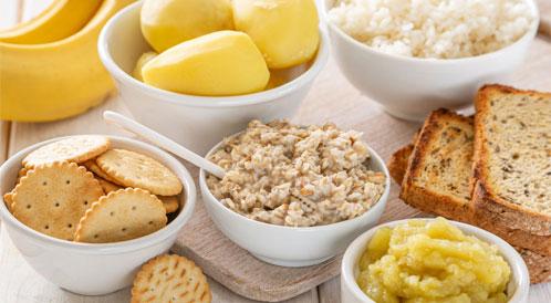 أكلات توقف الإسهال وتخفف أعراضه ويب طب