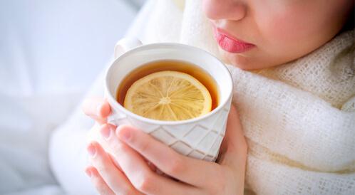 مشروبات لعلاج الكحة