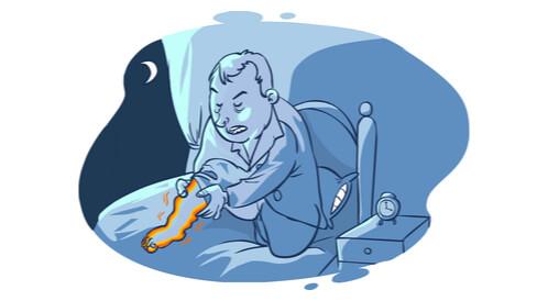 علاج تململ الساقين عند النوم