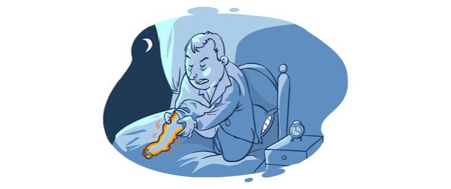 علاج تململ الساقين عند النوم: أبرز التفاصيل