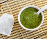 ماسك الشاي الأخضر للوجه
