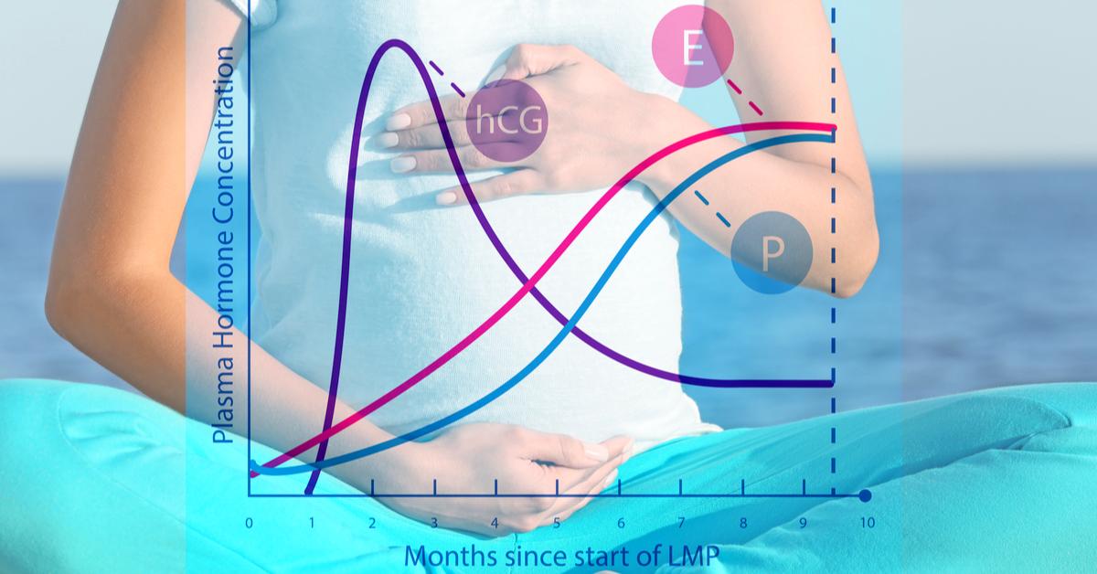 كم نسبة هرمون الحمل الضعيف ويب طب