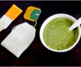 ماسك الشاي الأخضر والزبادي