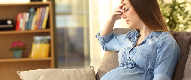 متى يخف تعب الحمل
