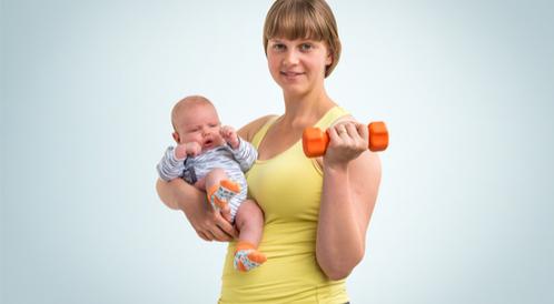 6 تمارين مهمة بعد الولادة