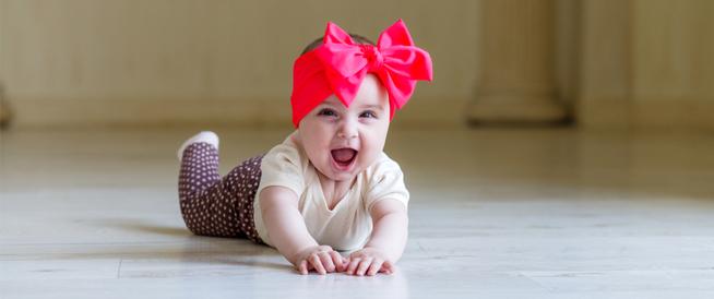 مراحل نمو الرضيع في الشهر السادس