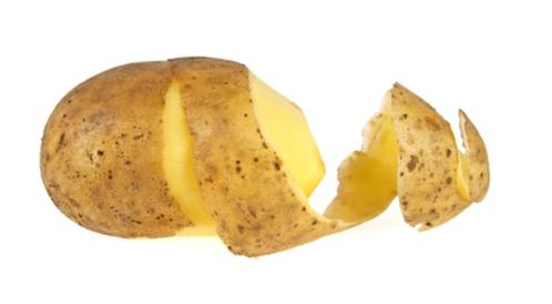 قشور البطاطا للشيب: هل هي مفيدة حقًا؟