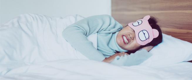 صرير الأسنان أثناء النوم