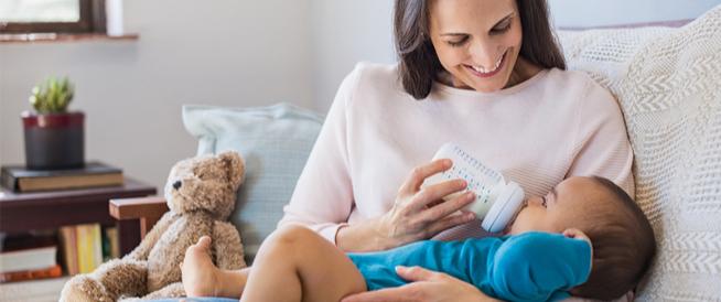 مشروبات للأطفال حديثي الولادة