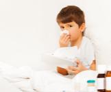 علاج الرشح عند الأطفال