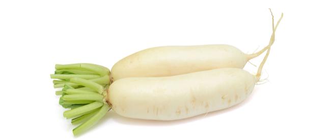 فوائد الفجل الأبيض للسكر