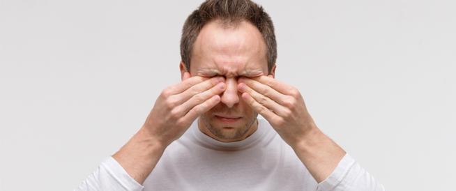 هل حساسية العين تؤثر على النظر؟