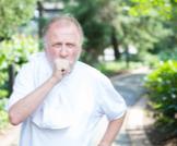 أعراض لفحة الهواء الصدرية