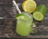 عصير الخيار والليمون