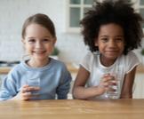 علاج الجفاف عند الأطفال