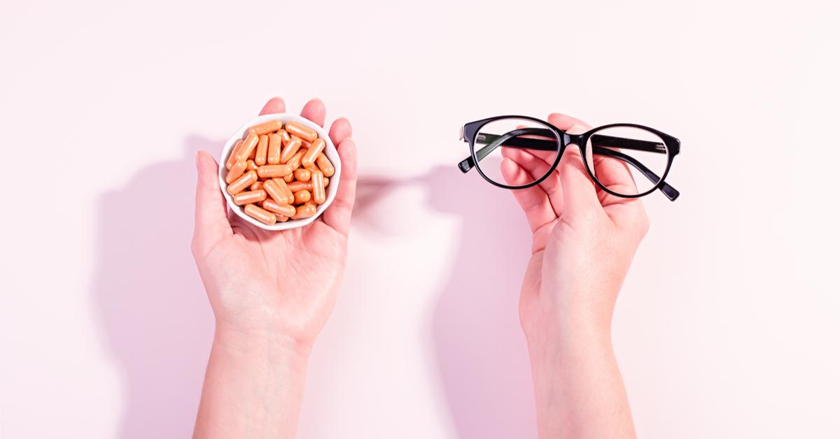 فيتامينات للعين قائمة بأهمها ويب طب