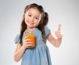عصير المانجو للأطفال