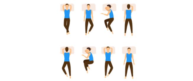 طريقة النوم عند ارتفاع الضغط