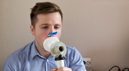 قياس التنفس