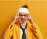 صداع بعد ضربة الرأس