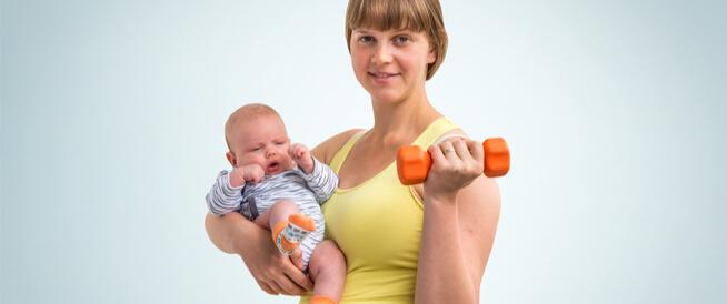 متى يمكن ممارسة الرياضة بعد الولادة القيصرية؟
