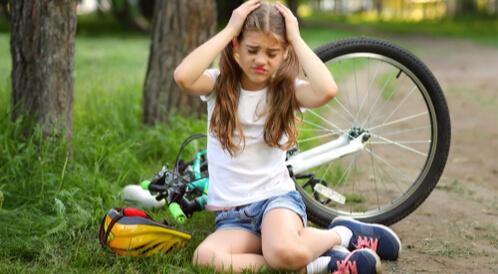 أعراض ارتجاج المخ عند الأطفال