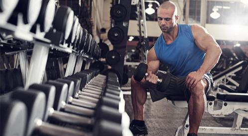 بناء العضلات في رمضان