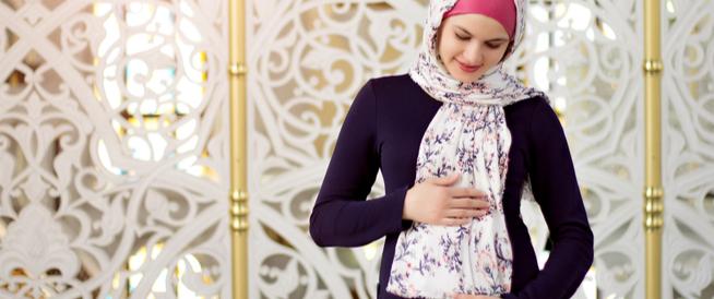 صيام الحامل في الشهر التاسع