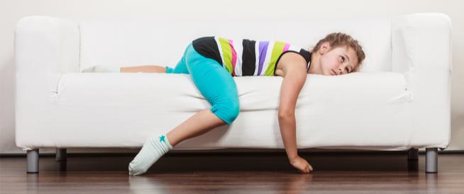 علاج الخمول عند الأطفال
