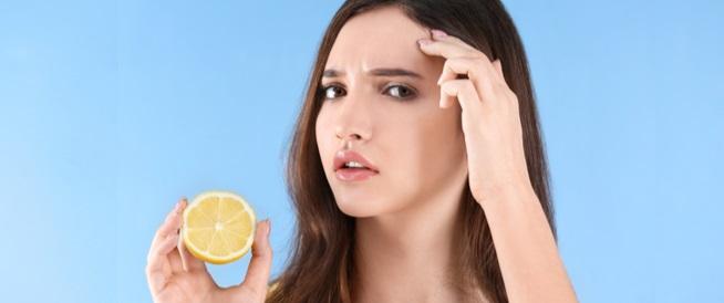 الليمون لحب الشباب: وصفة فعالة؟