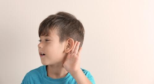 فقدان السمع عند الأطفال