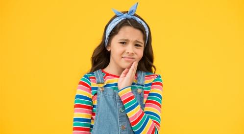 خراج الأسنان عند الأطفال