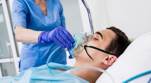 صعوبة التنفس بعد التخدير