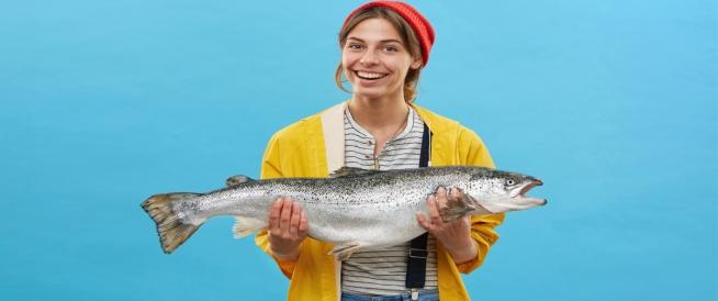 فوائد السمك للنساء