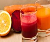 عصير الشمندر والبرتقال والجزر للبشرة